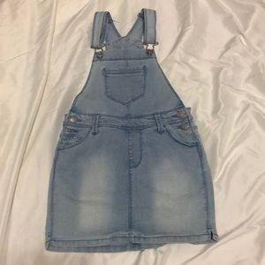 Girls 7/8 Jordache Overall dress